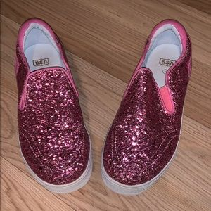 Other - Pink Sparkly Kids Shoes